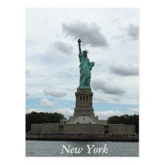 Cartão da estátua da liberdade