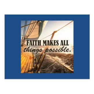 Cartão da fé