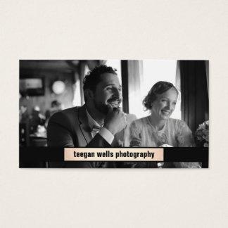 Cartão da fotografia da chapa do ouro do fotógrafo