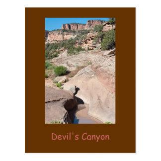 Cartão da garganta do diabo, CO