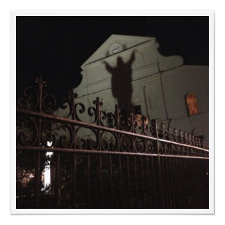 Cartão da igreja da sombra