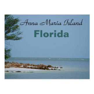 Cartão da ilha de Anna Maria, Florida Cartão Postal