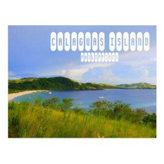 Cartão da ilha de Calaguas