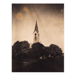 """Cartão da """"iluminação igreja """""""