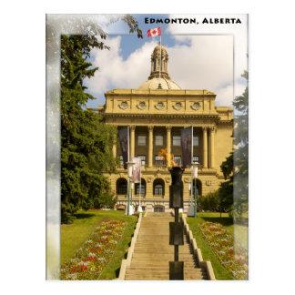 Cartão da legislatura de Edmonton Alberta