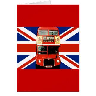 Cartão da lembrança de Londres Inglaterra