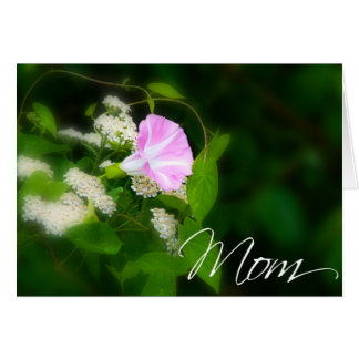 Cartão da mamã cartão do dia das mães