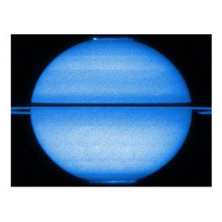 Cartão da mostra da luz de Saturn