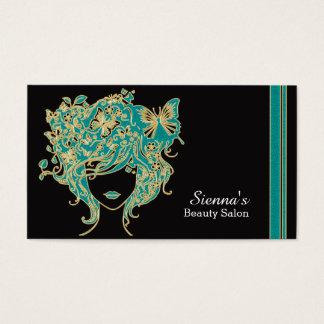 Cartão da nomeação do cabeleireiro