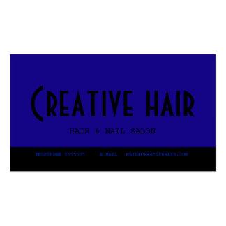 Cartão da nomeação do cabeleireiro cartão de visita