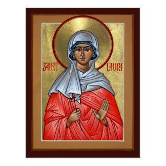 Cartão da oração do St. Laura