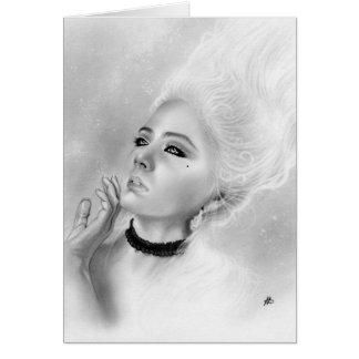 Cartão da rainha Marie Antoinette
