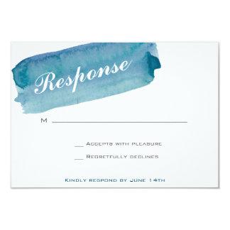 Cartão da resposta do convite do casamento da