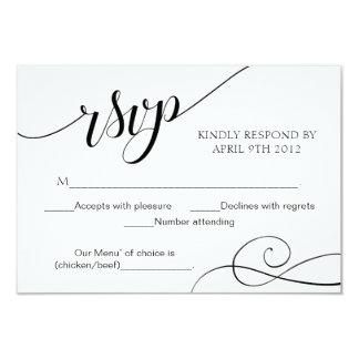 Cartão da resposta do roteiro do cartão da