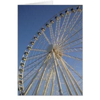 Cartão da roda de Ferris