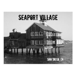 Cartão da vila do porto cartão postal