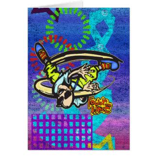 Cartão Dança da torre