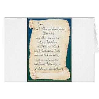 Cartão Daniel