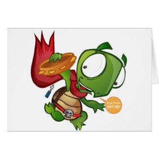 Cartão Daniel a tartaruga