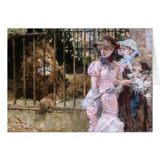 Cartão Daniel Hernández Morillo: Na gaiola do leão