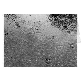 """Cartão Das """"cartão ondinhas e da chuva"""""""