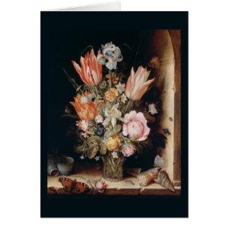 Cartão das flores de Van antro Berghe