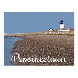 Cartão das MÃES de Provincetown do farol de Cape
