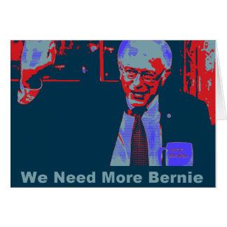 Cartão das máquinas de lixar de Bernie