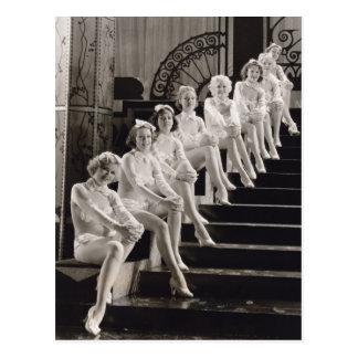 Cartão das meninas de coro - 1706666.jpg cartao postal