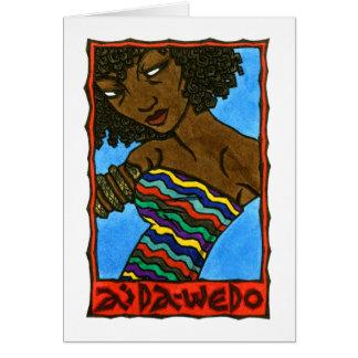 Cartão de Aida-Wedo