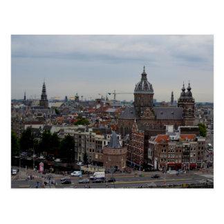 Cartão de Amsterdão