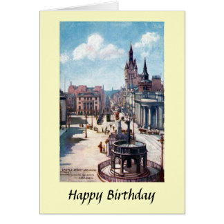 Cartão de aniversário - Aberdeen, Scotland