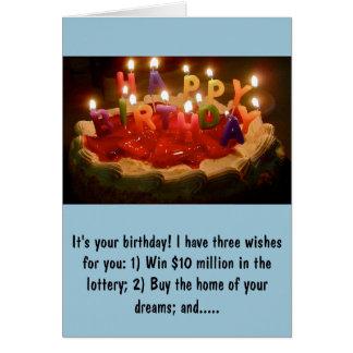 Cartão de aniversário de Rick Perry
