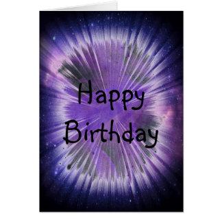 Cartão de aniversário de Spacey