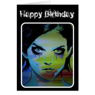 """""""cartão de aniversário do fantasma afogado"""" cartão"""