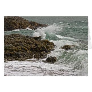 Cartão de aniversário do Seascape