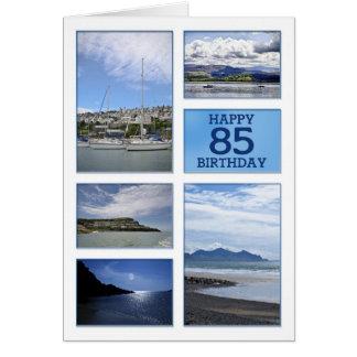 Cartão de aniversário dos Seascapes 85th