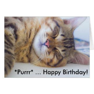Cartão de aniversário: Feliz aniversario do