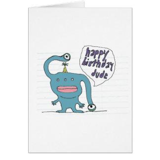 Cartão de aniversário para um gajo legal