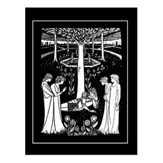Cartão de Beardsley Lancelot