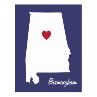 Cartão de Birmingham Alabama