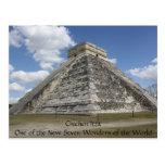 Cartão de Chichen Itza México Cartoes Postais