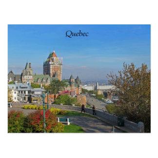 Cartão de Cidade de Quebec
