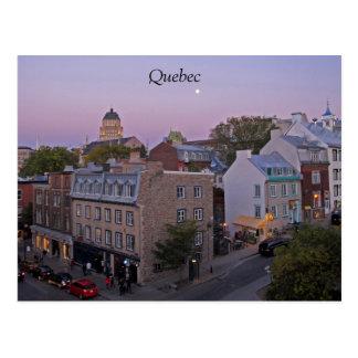 Cartão de Cidade de Quebec Cartão Postal