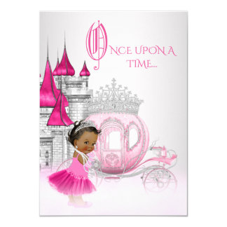 Cartão De Cinderella princesa Aniversário uma vez