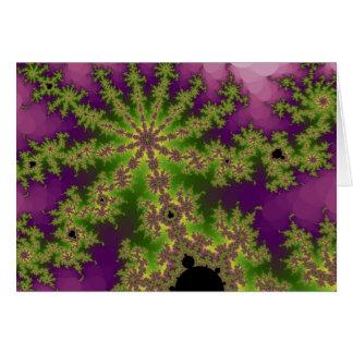 Cartão de cumprimentos de Bush do Mulberry