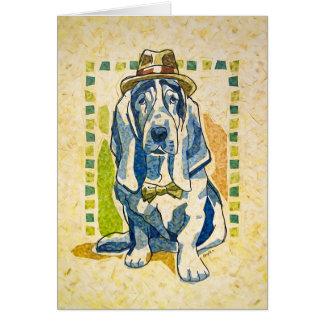 """Cartão De """"dia cão ido por """""""