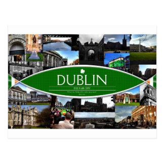 Cartão de Dublin Cartão Postal