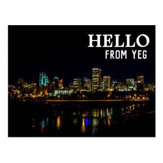 Cartão | de Edmonton, Alberta olá! de YEG