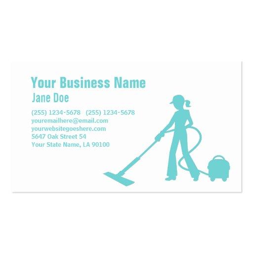 Cartão de empresa de serviços 3 da limpeza modelos cartão de visita